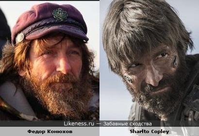 """Конюхов и """"Крюгер"""""""
