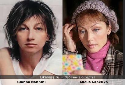 Алена Бабенко и Gianna Nannini