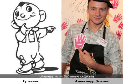 Александр Олешко напомнил Гурвинека