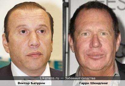 Виктор Батурин похож на Гарри Шендлинга
