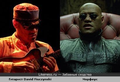 David Fiuczynski и Морфеус