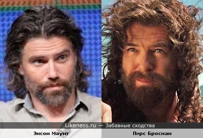 С бородой они похожи.