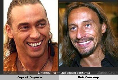 Сергей Глушко и Боб Синклер