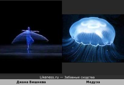 Балерина и медуза