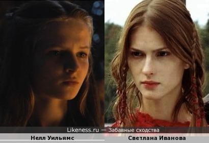 Светлана Иванова сыграла юную Серсею Ланнистер