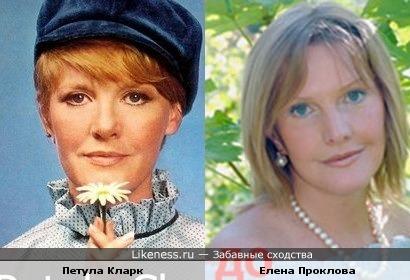Британская певица похожа на русскую актрису