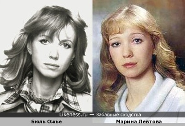 Французская актриса похожа на русскую