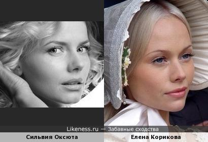 Польская актриса похожа на русскую