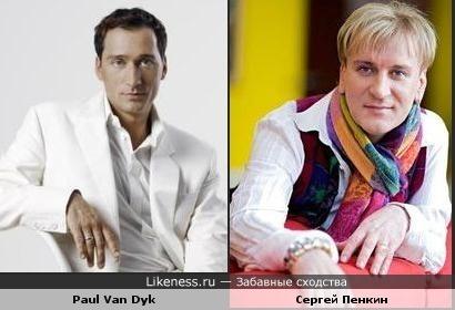 Разлученные близнецы: Пол Ван Дайк похож на Сергея Пенкина