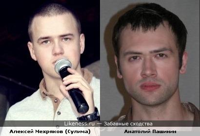 Алексей Мехряков и Анатолий Пашинин чем то схожи