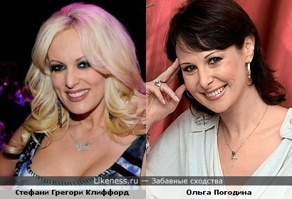 Стефани Грегори Клиффорд (Сторми Дэниэлс) напомнила Ольгу Погодину
