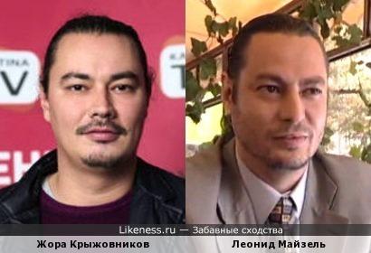 Жора Крыжовников похож на Леонида Майзеля