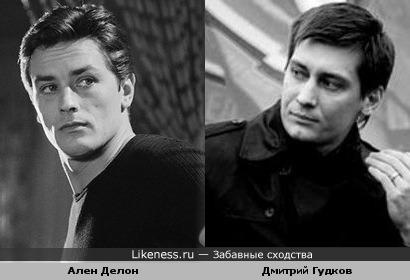 Депутат Дмитрий Гудков похож на Алена Делона