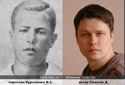 Рожков и Куриленко похожи