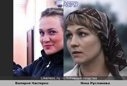 Валерия Мастерко похожа на Нину Русланову