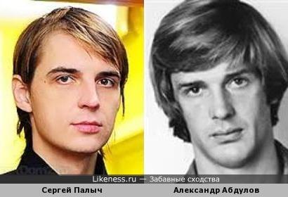 Сергей Адоевцев (Палыч) и Александр Абдулов