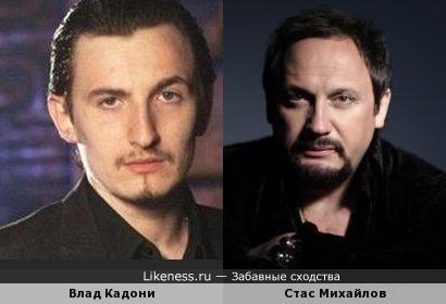 Повзрослевший Влад Кадони немного похож на Стаса Михайлова