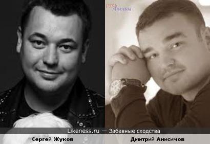 Сергей Жуков и Дмитрий Анисимов