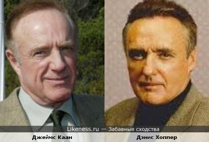Денис Хоппер и Джеймс Каан