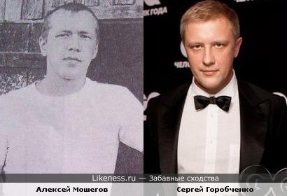 Алексей Мошегов похож на Сергея Горобченко