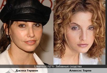 Джина Гершон vs Алексис Торпе