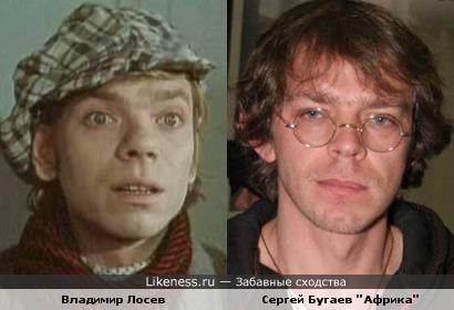 Владимир Лосев и Сергей Бугаев