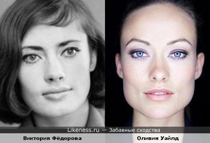 Дочь актрисы Зои Фёдоровой напомнила Оливию Уайлд