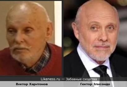 Гектор Элисондо и Виктор Харитонов