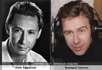 Валерий Сюткин и Олег Ефремов