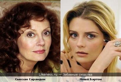 Сьюзан Сарандон и Миша Бартон