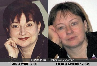 Елена Степаненко напомнила Евгению Добровольскую