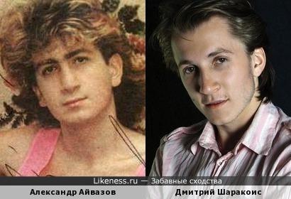 Александр Айвазов и Дмитрий Шаракоис