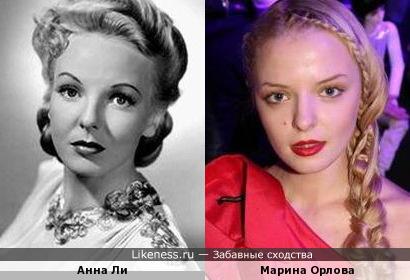 Анна Ли и Марина Орлова