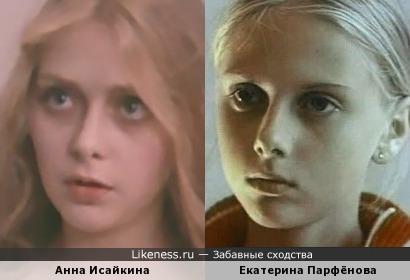Анна Исайкина и Екатерина Парфёнова
