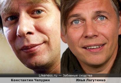 Илья Лагутенко и Константин Чепурин