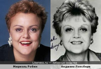Мюриэль Робин и Анджела Лэнсбери