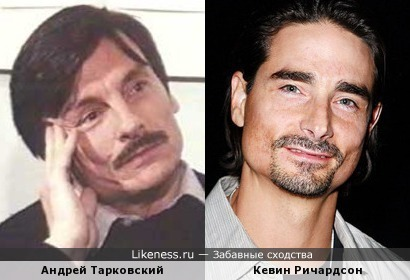 Андрей Тарковский и Кевин Ричардсон