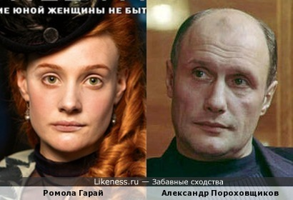 Ромола Гарай и Александр Пороховщиков