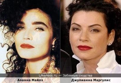 Аланна Майлз и Джулианна Маргулис