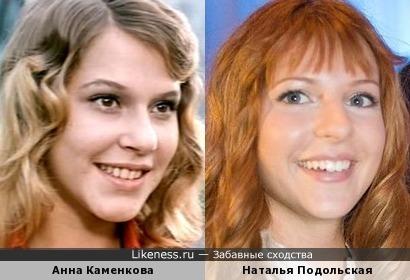 Анна Каменкова и Наталья Подольская
