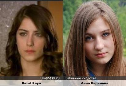 Девочка из ВК похожа на Hazal Kaya