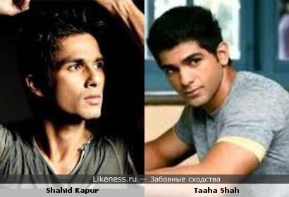 Shahid Kapur & Taaha Shah