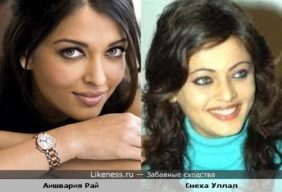 Индийские актрисы очень похожи