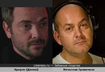 Марк Андреас Шеппард & Вячеслав Гришечкин