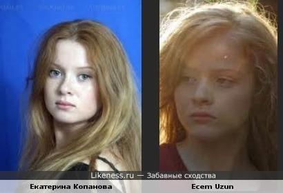 Русская актриса похожа на турецкую