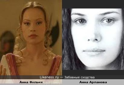Похожие актрисы...)
