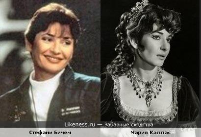 Стефани Бичем напоминает Марию Каллас
