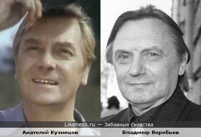 Режиссер Владимир Воробьев похож на Анатолия Кузнецова