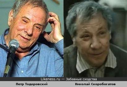 Тодоровский и Скоробогатов похожи