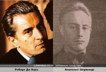 Отец Александра Ширвиндта напомнил на Де Ниро